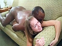 Blonde Teen Gets More Than She Can Handle