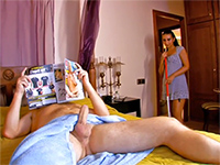 House Maid Couldn't Resist The View Of Bosses Boner