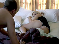 Sleeping Blonde Girlfriend Woken Up For The Hard Banging