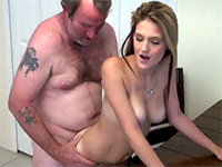 Naughty Teen Slut Seduces Older Man Into Fucking Her