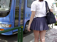 Japanese Teen Schoolgirl Molested On Public Bus
