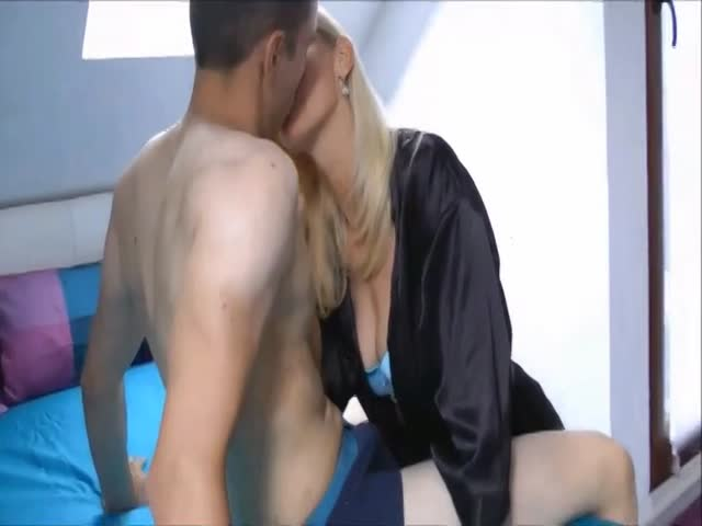 Dad Fucks Blonde Babysitter