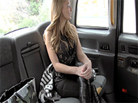 This Taxi Ride Brings Her Nothing But Hard Fucking