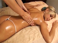 Innocent Looking Girl Gets Her First Happy Ending Massage