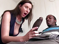 British Milf Left Speechless After Seeing The Size Of Black Cock