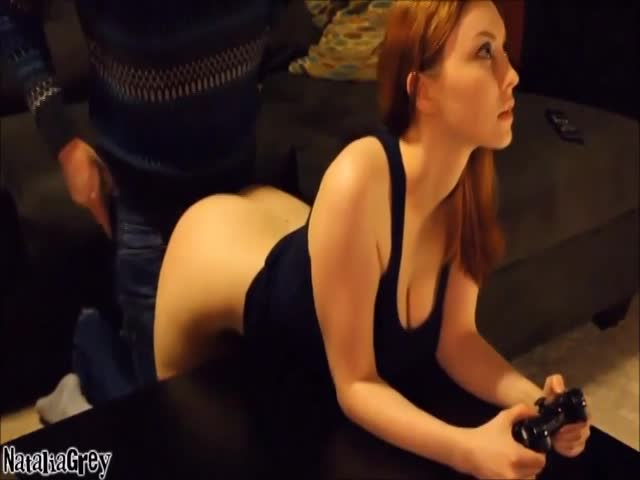 Riley Reid Playing Games