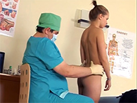 Dirty Russian Doctor Maltreats His Teen Patient