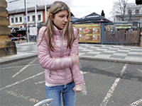 Skinny Teen Girl Was Freezing And Desperately Needed That Ride