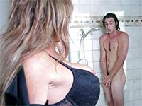 Fucks in shower whore