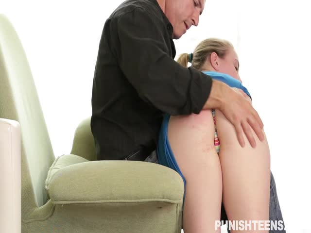Spanking and fucking her slut ass very