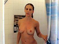 She Catches Boy Spying On Her In The Shower Then Fucks Him