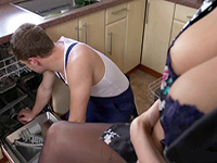 Horny Milf Needs A Plumber To Help Her With A Blockage