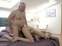 Submissive Young Girl Fucked Hardly By A Disgusting Old Man