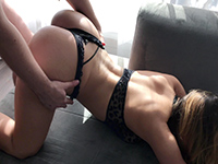 Playful Stepsis Wanna Fun With Brother In Family Room