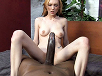 Picked Up Blonde Teen Gets Smashed By Huge Black Dong