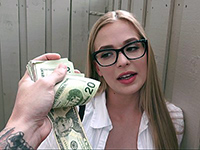 Blonde Teen Is Eager To Earn Some Cash