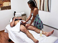 Erotic Masseuse Giving A Blowjob For A Few Bucks