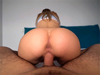 Fit Babe Fucked In Yoga Pants Till Dripping Creampie