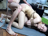 Submissive Gf Tied Up, Spanked And Hard Fucked