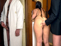 Perv Guy Spies On His Chubby Wife With Her Lover