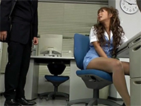 Japanese Secretary Takes Care Of Her Boss's Sexual Needs