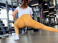 Fit Stepsister Got A Big Cock While Stretching After Workout